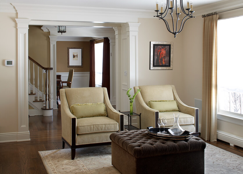 Closter NJ Seating Design