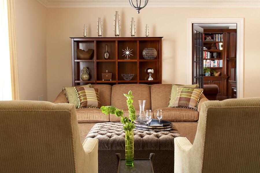 Living Room Design - Closter NJ