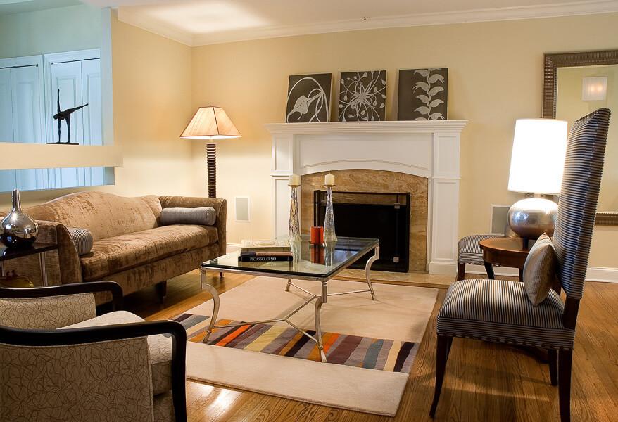 Neutral Living Room - Demerast NJ