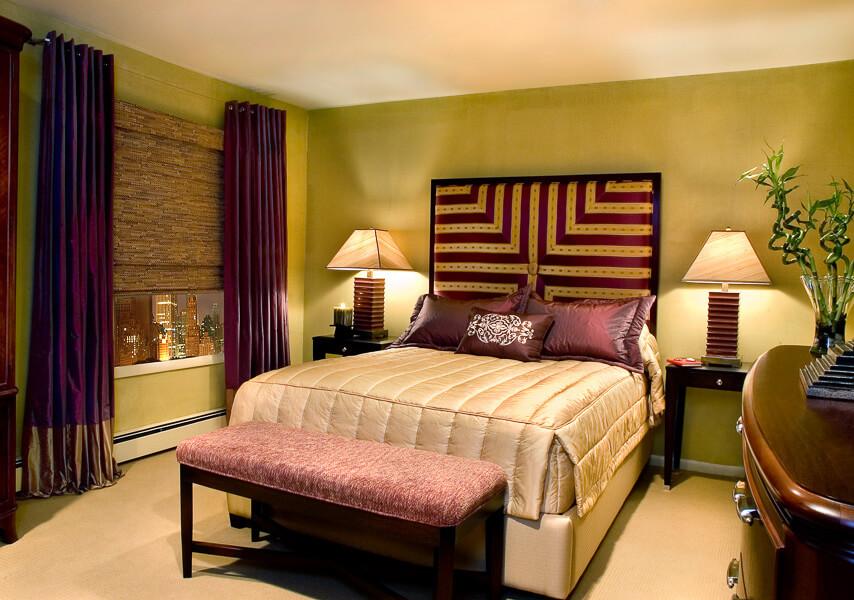Bold Bedroom Design