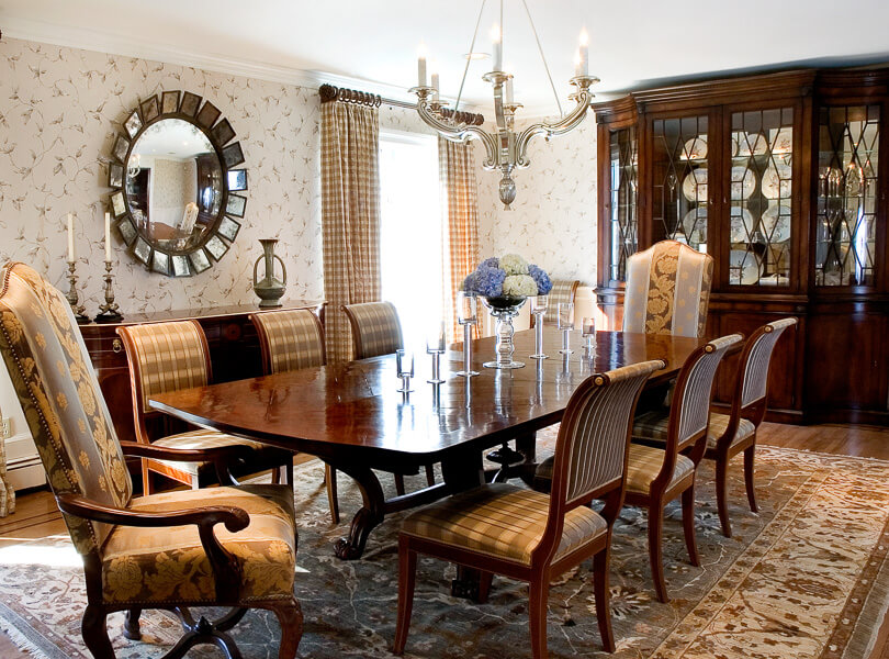 Dining Room in Demarest New Jersey