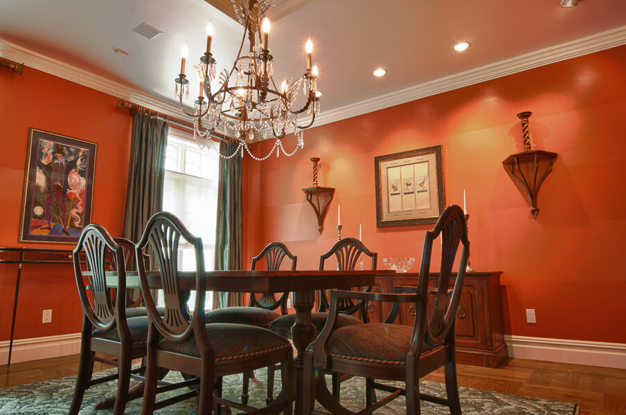 Dining Room Interior Design - Bergen Country NJ
