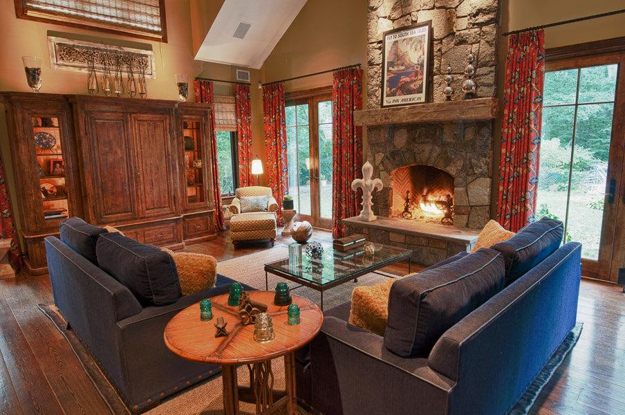 Haworth NJ Living Room Design