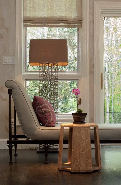 Reading Nook Design by Michael Mariotti Interior Design