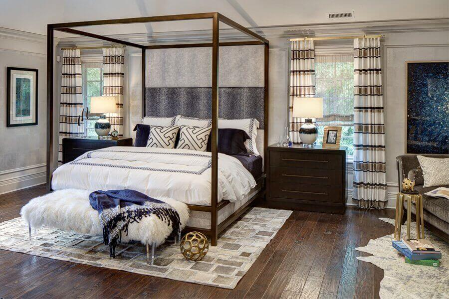 Saddle river showhouse 2016 master bedroom 1 michael for Interior design bergen county nj