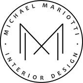 New Michael Mariotti Interior Design Logo Seal