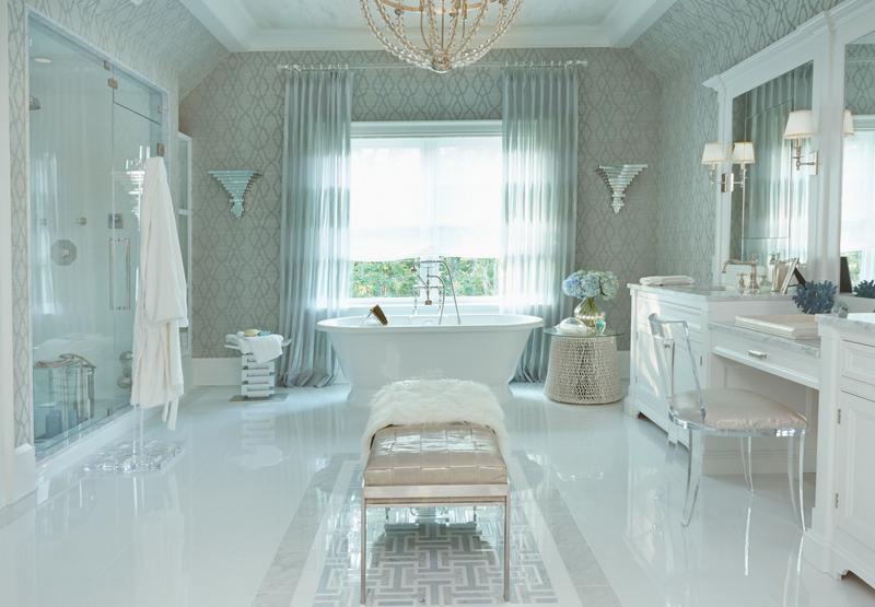 Hampton Coastal Master Bathroom